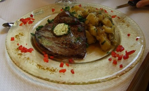 Alsace meat and potatoes
