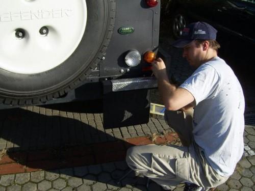 bumper Land Rover Defender