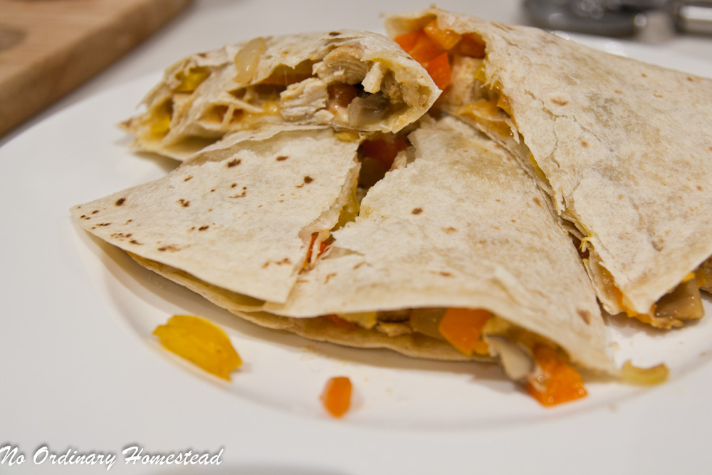 how to make good chicken quesadillas