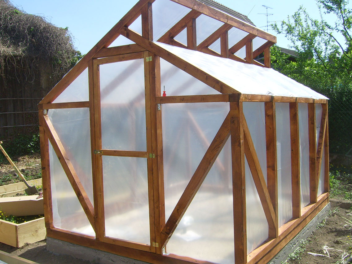 Diy wood framed greenhouise pdf woodworking for Greenhouse design plans