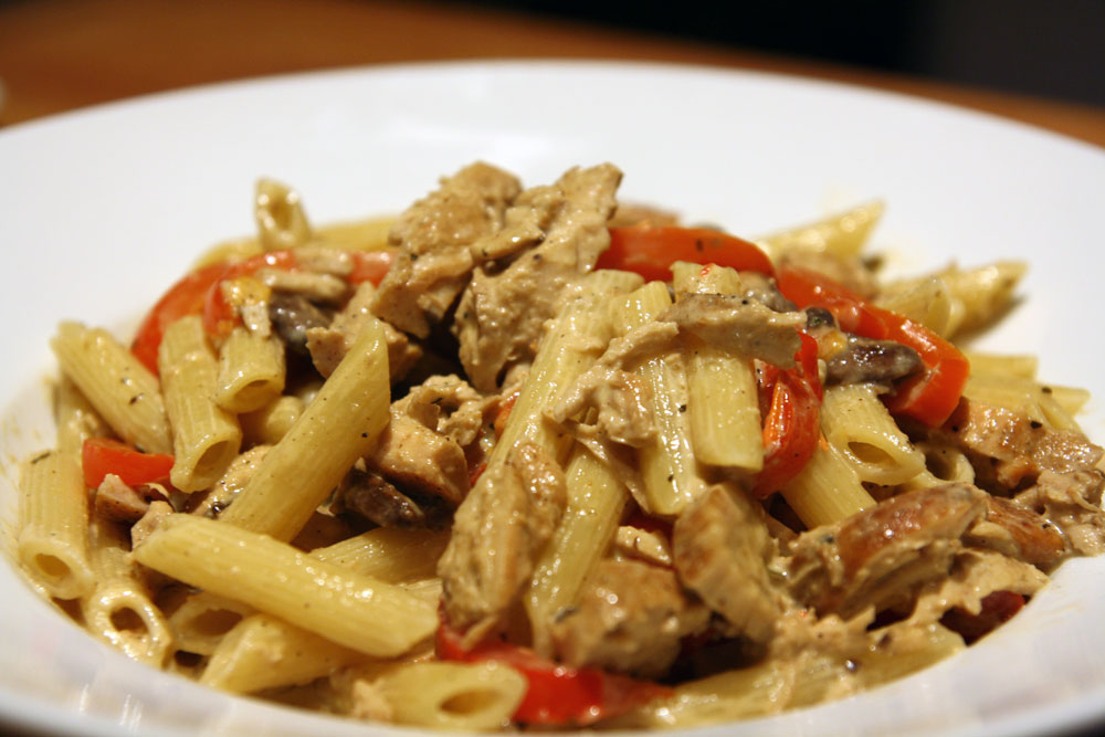 Awesome Cajun Chicken Pasta