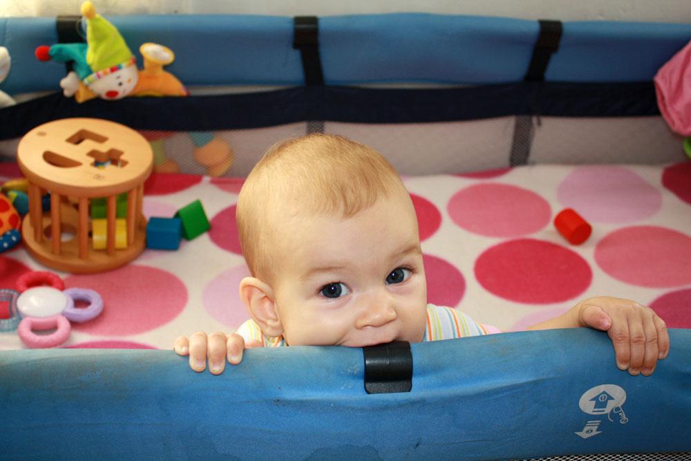 Mackenzie 8 months peekaboo