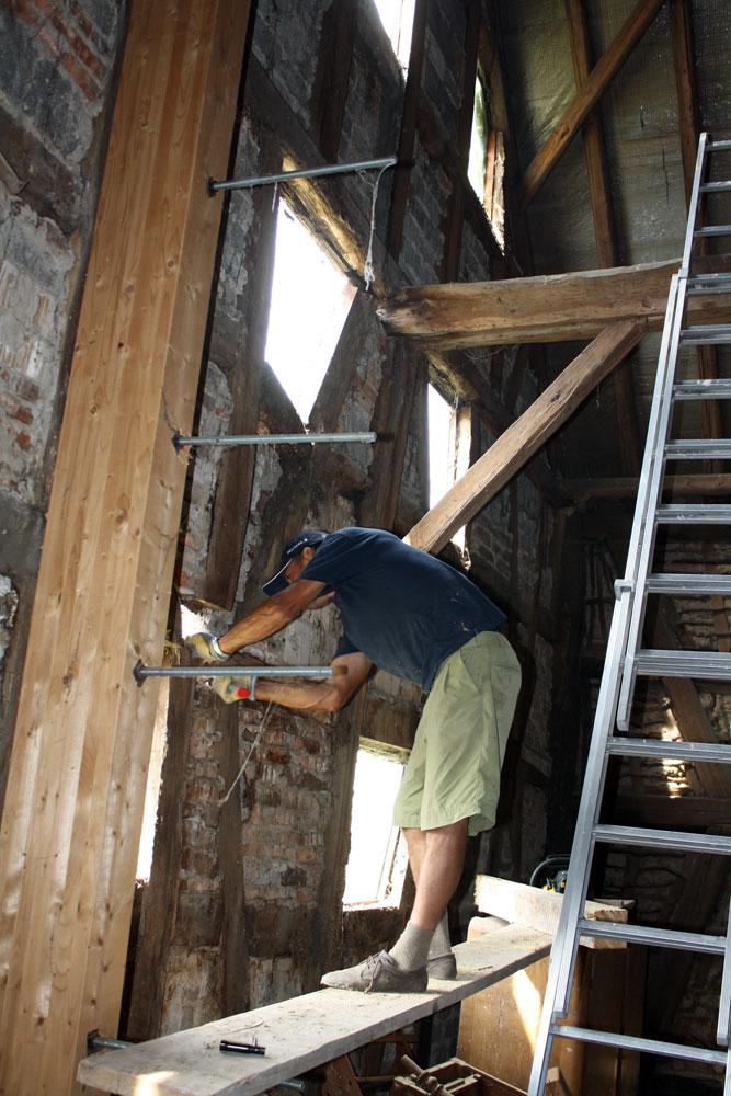 barn wall repair