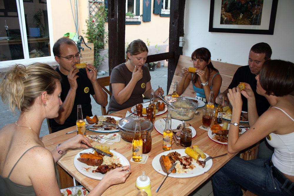 Lanternfest 2009 feast
