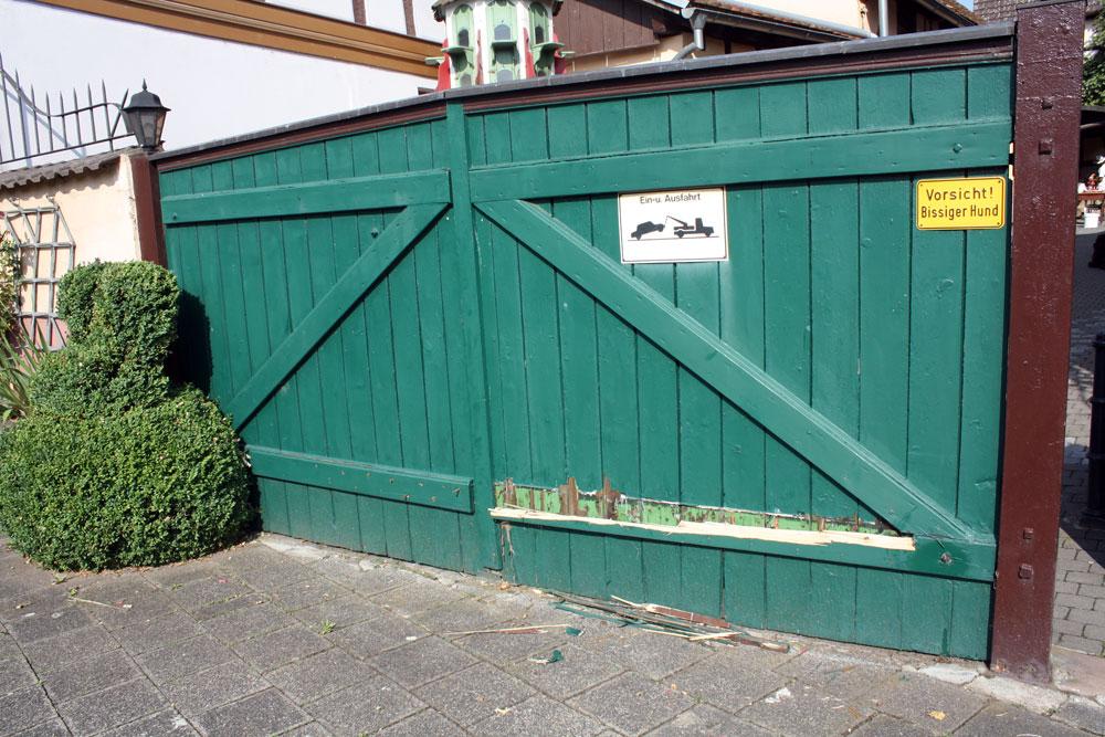gate repair during