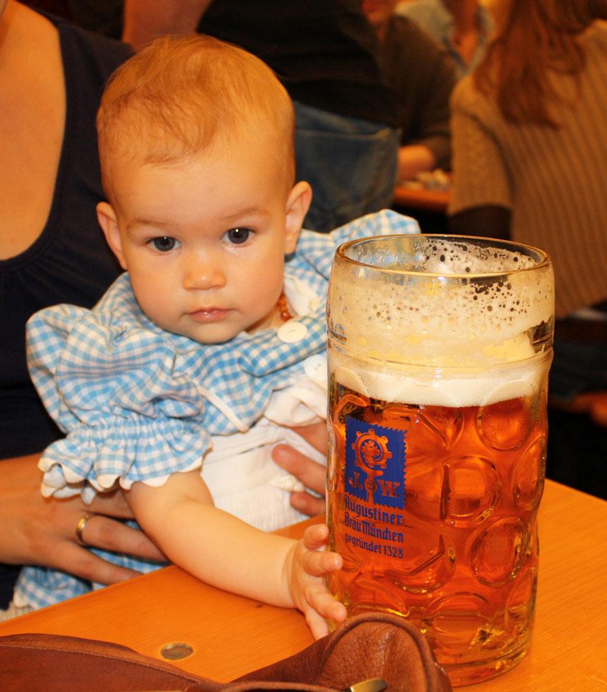 macks first beer oktoberfest 2009