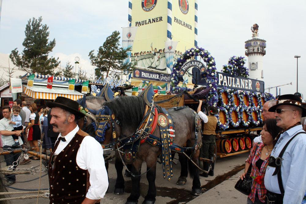 Paulaner Horses Oktoberfest 2009