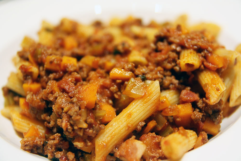 One tasty bolognese sauce recipe