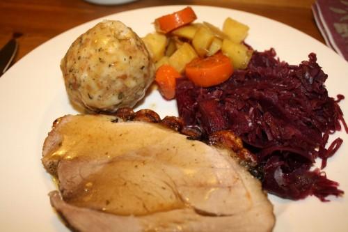 schweinebraten feast