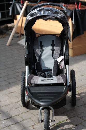 cleaning your stroller