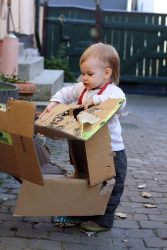 Newfs cardboard