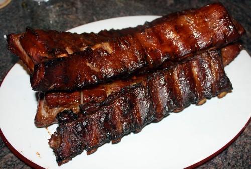 smoker ribs