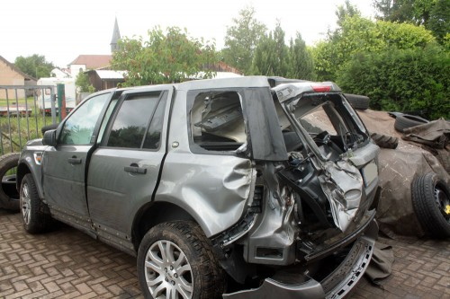 land rover freelander left side