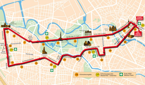 berlin half marathon race map