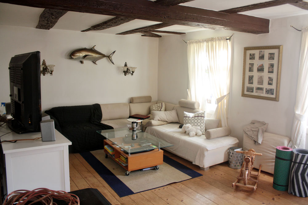 The new living room and Gapseal - No Ordinary Homestead