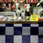 Being brave at the butcher shop