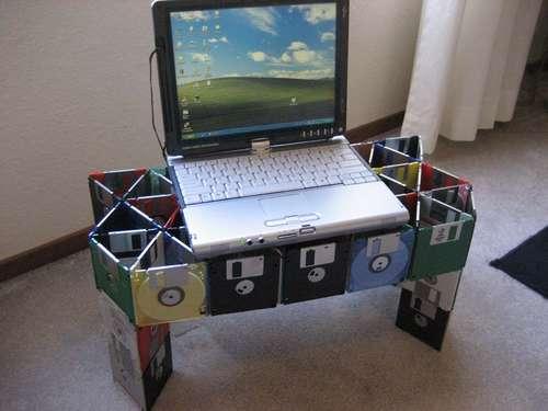 reuse floppy disks
