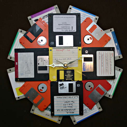 Crafts Made With Floppy Disks