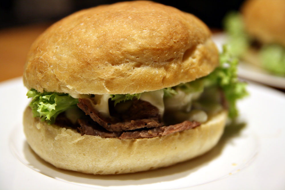 Leftover steak sandwiches | No Ordinary Homestead