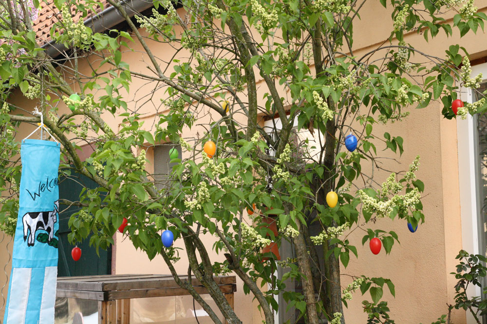 Decorate Christmas Tree For Easter : My easy easter decor no ordinary homestead