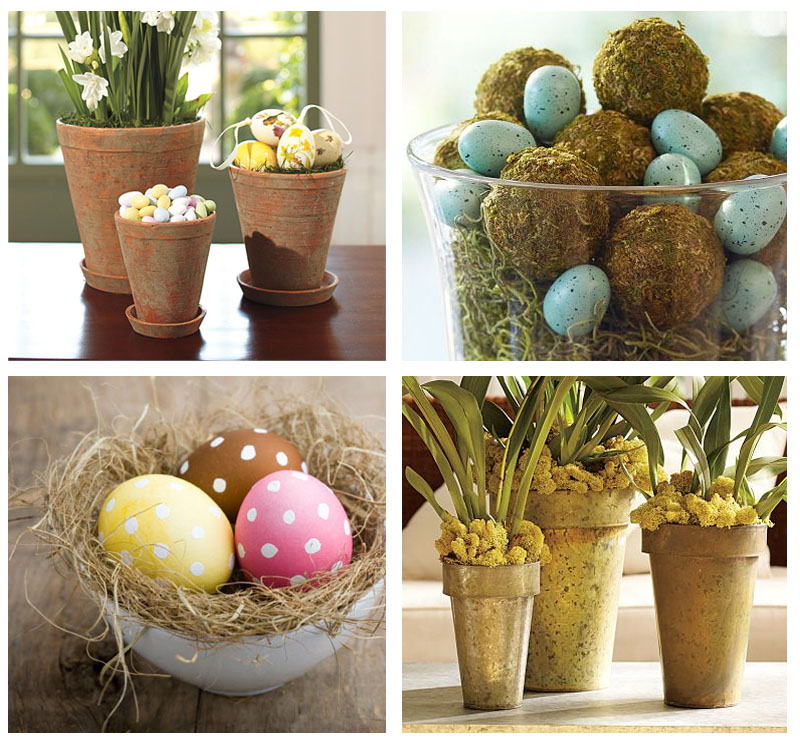 My easy easter decor no ordinary homestead for Simple home decorations
