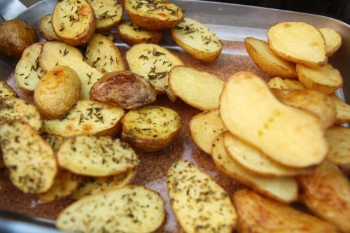 oven roasted potatoes crisp oven browned potatoes oven roasted