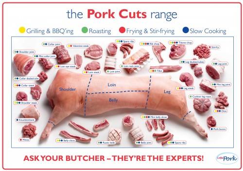 pork cuts US