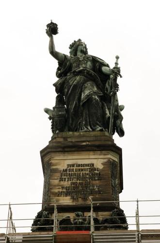rudesheim germania monument