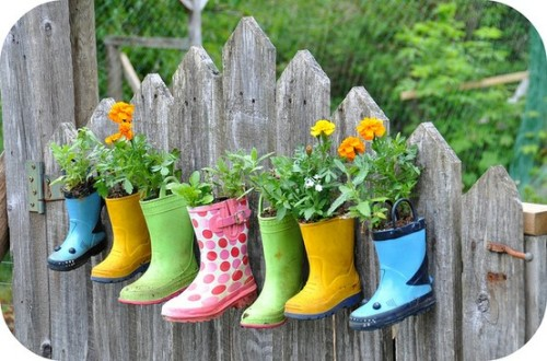 rubber-boot-planters