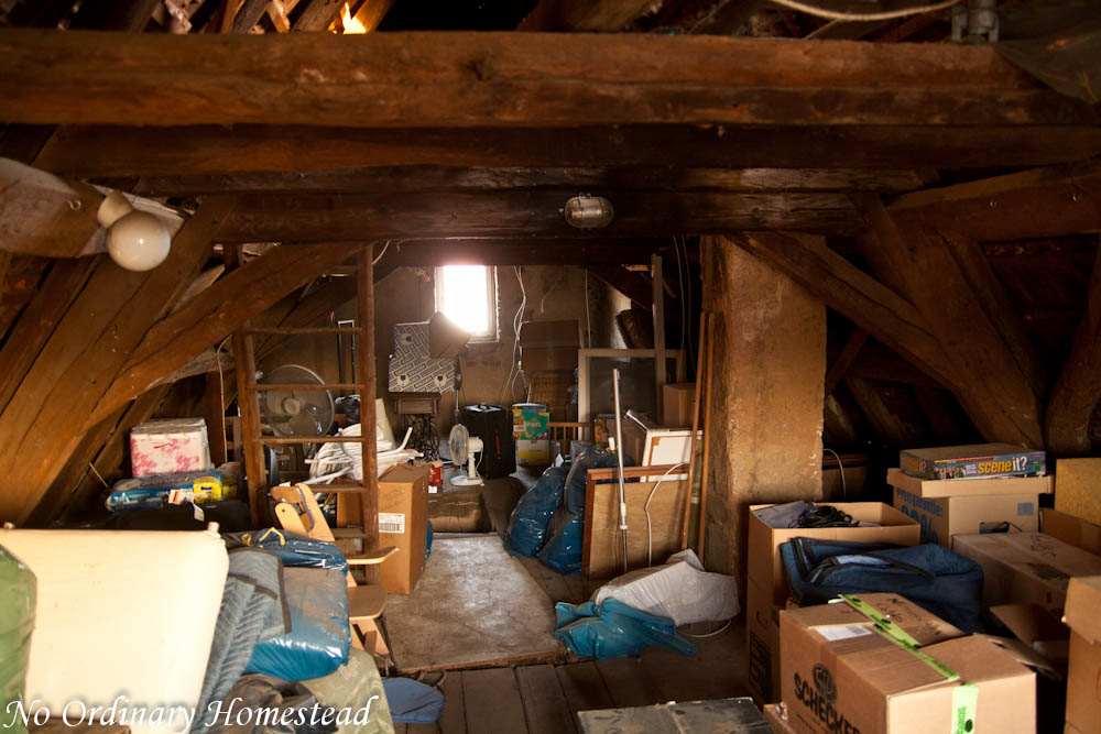 Attic buildout — A major renovation in the works