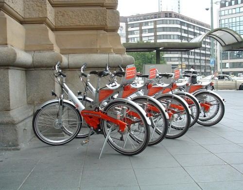 Frankfurt call-a-bike