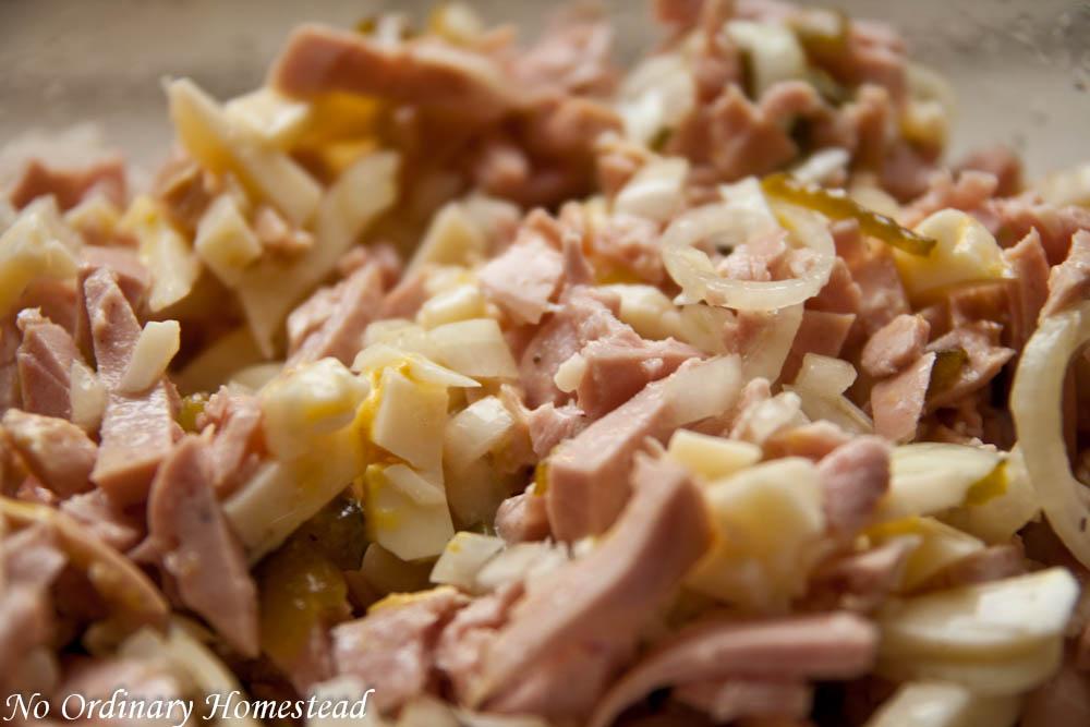 Wurst Käse Salat – A classic summer dish