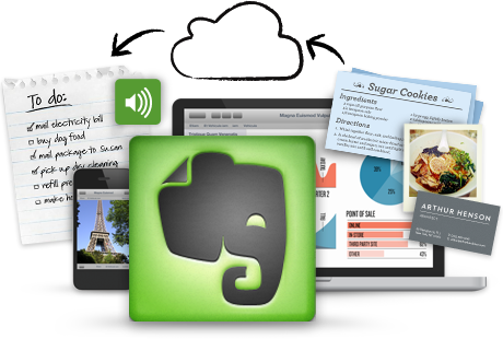 Ways to use Evernote to plan big projects around the home
