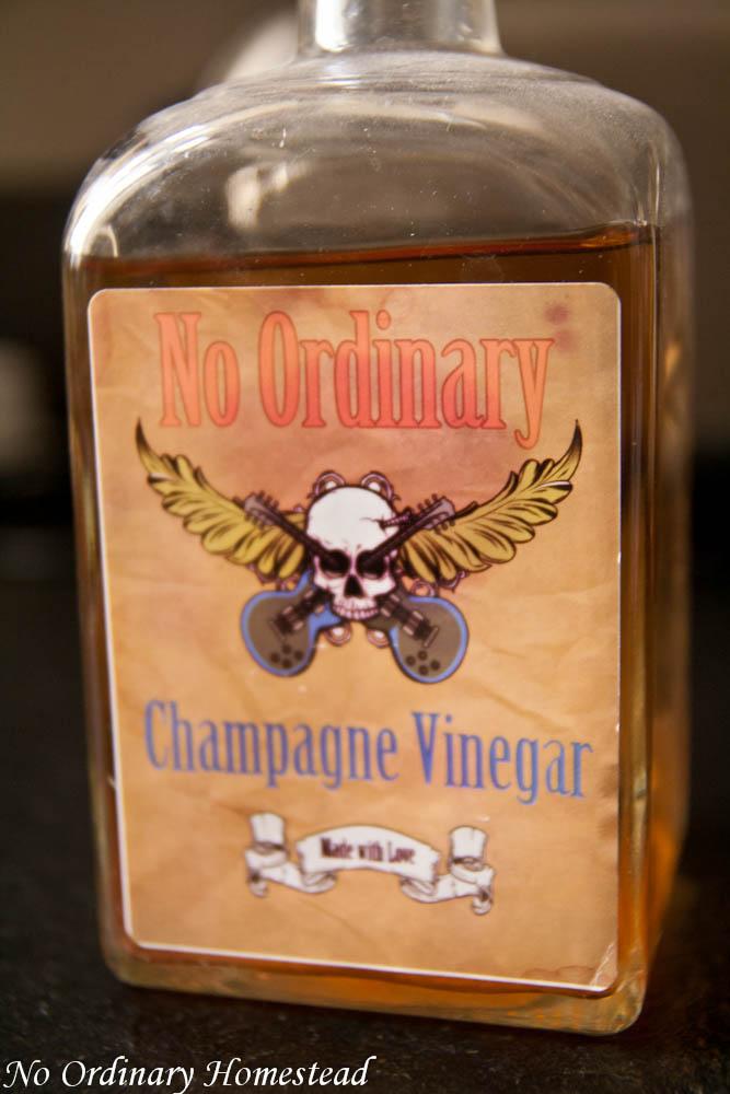 How to make champagne vinegar