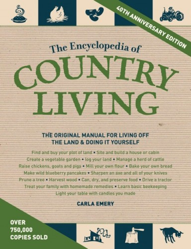 The encyclopedia of country living giveaway no ordinary for Country living 500 kitchen ideas book