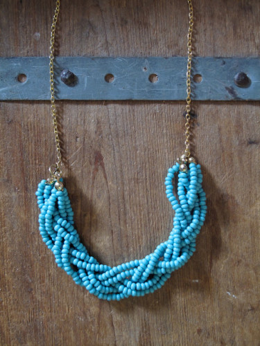 diy-bead-necklace-multistrand