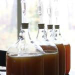 How to make apple cider vinegar {Natural Life Link-Up}