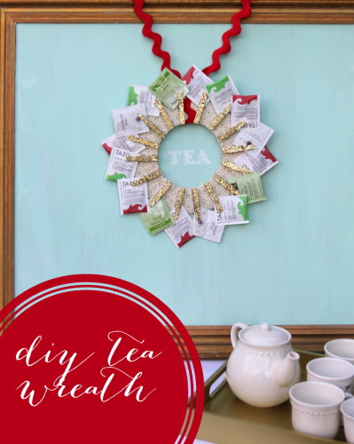 tea-wreath
