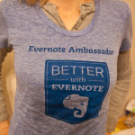 Evernote Clothing Swag {WWIW}