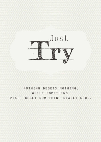 just-try