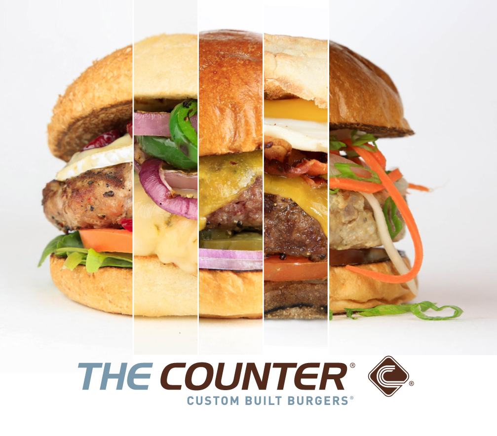 Have you experienced a burger at The Counter? {Giveaway}