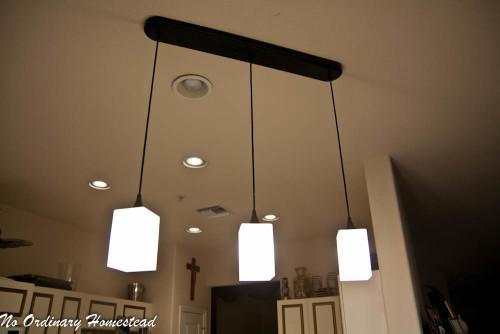 Bringing New Light Into The Kitchen No Ordinary Homestead
