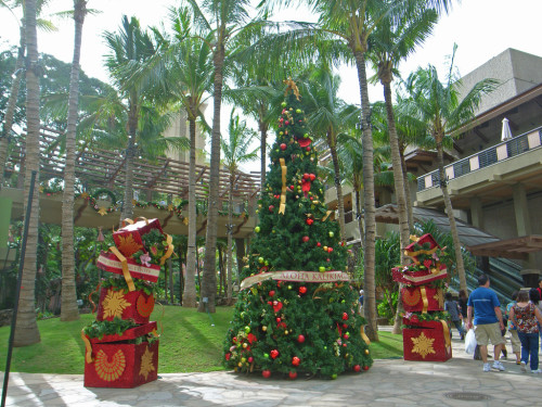 christmas-palm-trees