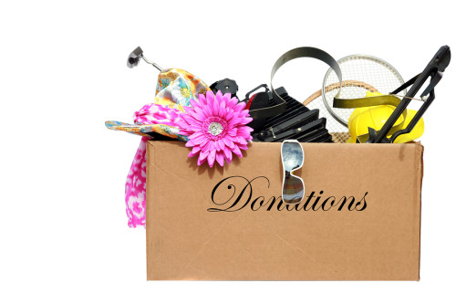 clutter donations