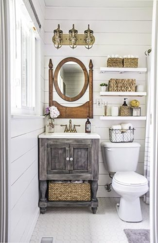 See more from this awesome small bathroom makeover