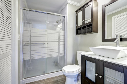 Cute  something as simple as a bathroom vanity you ull be amazed at how much more space your bathroom seems to have and how easy it is to keep it tidy