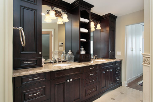 Superb Bathroom vanities as all types of furniture should be chosen to fit the space for which they must serve A longer vanity with no storage and numerous