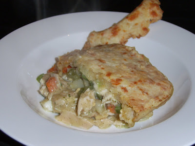 Chicken Pot Pie with Cheddar Pastry