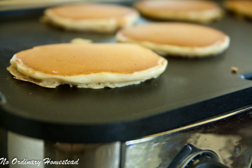 Homemade Buttermilk Pancake Recipe