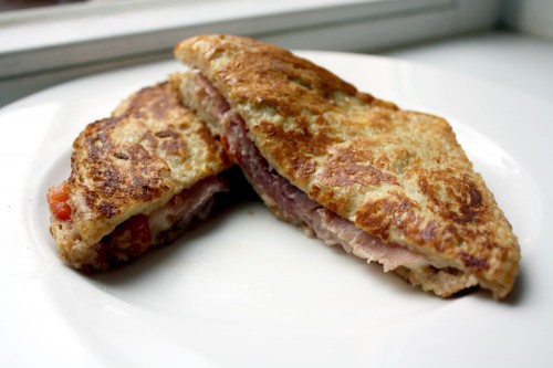 Mozzarella and Prosciutto Italian Melts